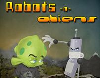 Robots-n-Aliens Poster