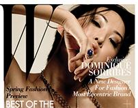 W Magazine Cover for Platt College Project
