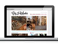 City Spokes - Logo and Web Design