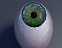 3D Eyeball Render