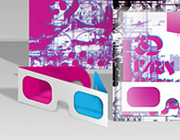 URBAN BEACH - NIGHT CLUB 3D INVITATION
