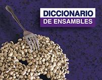 DICCIONARIO DE ENSAMBLES