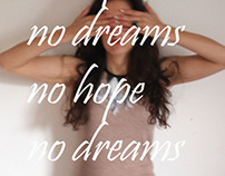 no dreams no hope