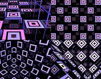 Square Flash - VJ Loops Pack (5 in 1)