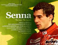 Senna Poster Design