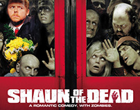 Shaun of the Dead Poster Design