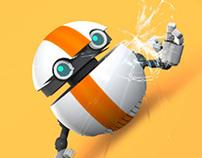 Ballbot: Rolling Up