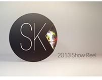 Sam Kelly Show Reel 2013