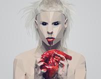 Yolandi Visser (Die Antwoord) - Tension / Face Work