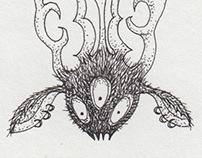 Daily Demon Doodles - January 2014