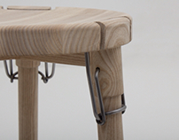 Latch stool