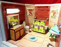 "Kid's ""Al-Naturale"" Bathroom"