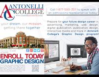 Graphic Design 1/2 page print ad