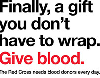 Red Cross Donation Ads