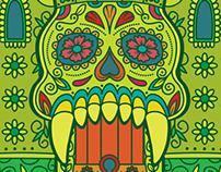 Los Amos Del Universo: Castle Gray(sugar)skull