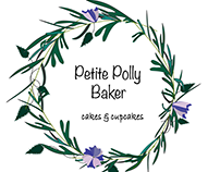 Variants of Petite Polly Baker logo
