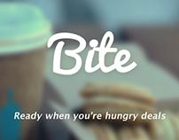 iOS App Design - Bite