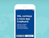 Credicard (Brasil) / Rediseño App - Web