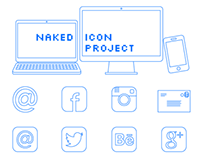 Naked Icon Project - FREE DOWNLOAD