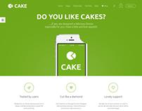 Cake - Responsive Multi-Purpose WordPress Theme