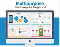 Multipurpose Flat Powerpoint Presentation v2