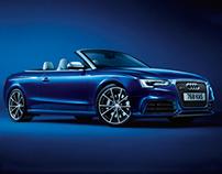 Audi RS 5 - Retouching