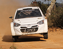 Hyundai i20 WRC test in Alentejo (21.02.2014)