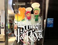 Raya Festive Retail Decoration
