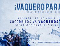 ¡Vaquero Parate! Social Media Concept.