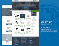 Fastlec Website Design!