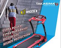 F1 Racing Treadmill Magazine & Press Ad