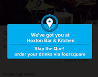 X Pay - The Foursquare in app payment service