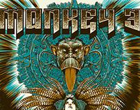 Monkey 3 - Poster tour 2014