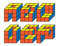 Rubix Font