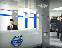 volvo reception