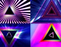 Prism Rays - VJ Loops Pack (5 in 1)