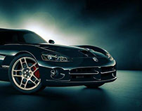 Full CGI - Dodge Viper  SRT10
