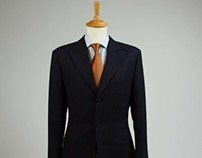 Savile Row Style Winter weight Suit