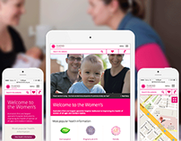 The Royal Women's Hospital Responsive Website Design