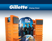 Gillette - Display Stand