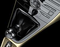 Toyota Auris Center Console