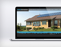 Solar Dynamics Website MockUp