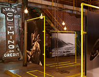 Fuze Goes Bang! / Exhibition Design