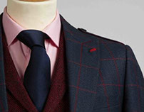 Highland sports jacket & Harris Tweed Waistcoat