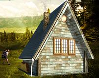 modular wooden cottage kekec