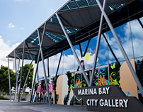 Marina Bay Gallery Facade Design