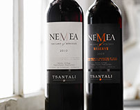 Packaging Nemea Greece Tsantali