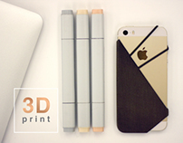 iPhone cover /// Oblique