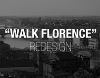 Walk Florence - App Design