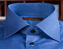 Ultra Marin Sea-Island Cotton Dress Shirt